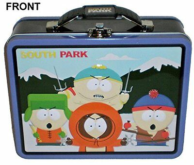 Comedy Partners South Park Purple and Black Embossed Metal Lunch Box/ Carry-All
