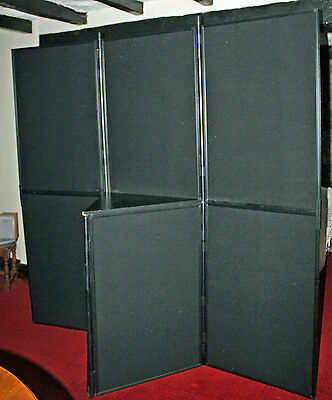 Panel and Pole Modular Display Board Exhibition Stand