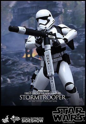 Star Wars First Order Heavy Gunner Stormtrooper Sixth Scale Figure Hot Toys