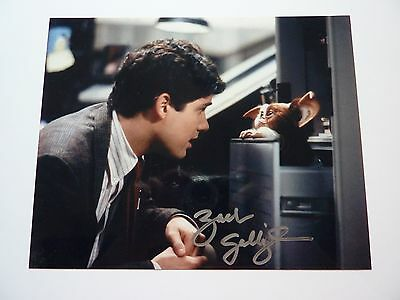 Zach Galligan Signed Gremlins Photo Handsigned