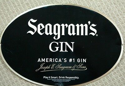 Seagram's Gin Tin Sign
