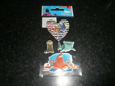 """Sandylion """"Finding Dory"""" Disney  dimensional  sticker small pack"""