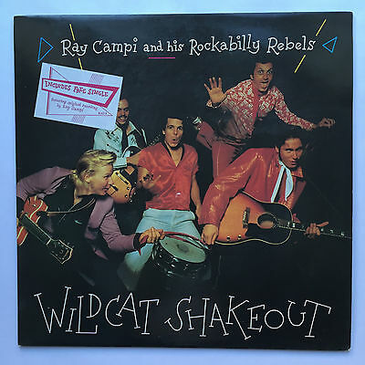 RAY CAMPI and his ROCKABILLY REBELS - LP