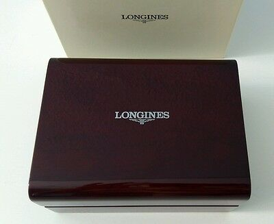 LONGINES Original Brand New Wood Box for Watch CAJA ESTUCHE ORIGINAL PARA RELOJ