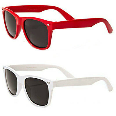 2 Pack Lot of Kids Classic 80's Retro Wayfarer Sunglasses
