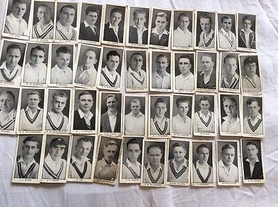 County cricketers cards