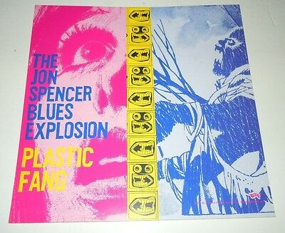 THE JON SPENCER BLUES EXPLOSION~Plastic Fang~Promo Poster Flat~12x12~2002