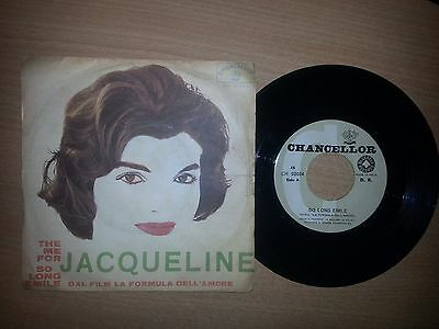 Theme For Jacqueline / So Long Emile La Formula Dell' Amore 45 Giri 7 Rare