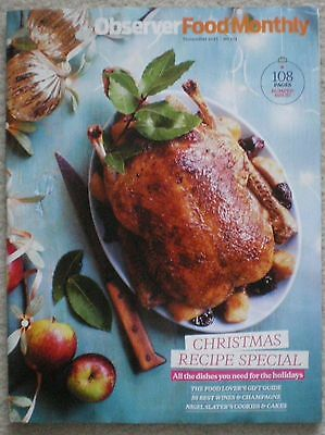Christmas Recipe Special - Observer Food Monthly Magazine – November 2015