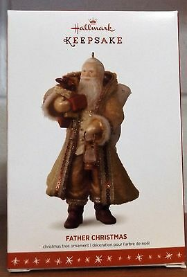 2016 Hallmark Keepsake Ornament FATHER CHRISTMAS #13