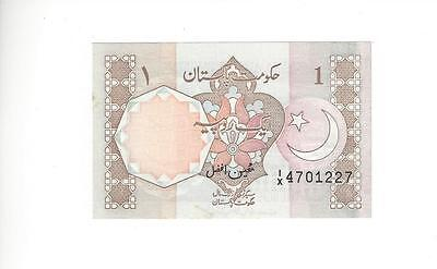 Pakistan 1 Rupees, Old Issue  1/x Replacement Note    Nice Unc