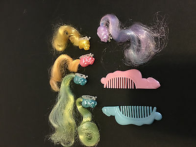 Vintage Lovely Lady Locks Doll Accessories 1980s