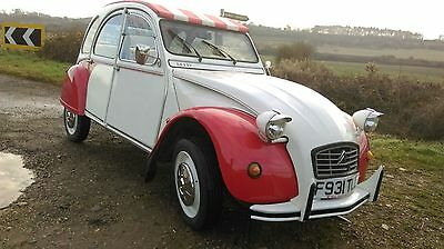 Citroen 2CV 6 special Dolly Galvanised chassis, excellent  condition low mileage