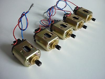 5 x Vintage Mabuchi FT-16D slot car motor -  New Old Stock from 1974