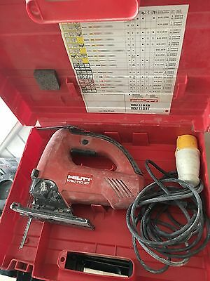 Hilti Jigsaw Wsj110 Et And Carry Case