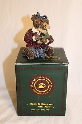 Boyds Bears Resin Momma McBruin and Luke...Baby Love #228349
