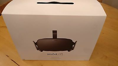 Oculus Rift CV1- Immaculate and all repackaged as delivered