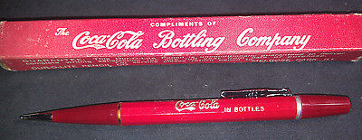 Vintage Drink COCA COLA in Bottles Mechanical Pencil 1940 w/ Box - GENUINE