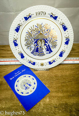 1979 Spode Christmas Collector Plate, Gift, England Bone China, Limited Edition