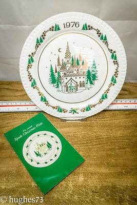 1976 Spode Christmas Collector Plate, Gift, England Bone China, Limited Edition