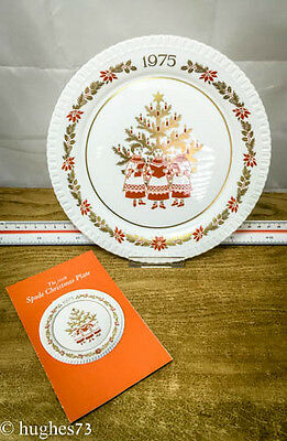 1975 Spode Christmas Collector Plate, Gift, England Bone China, Limited Edition