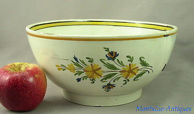 Antique Pearlware Punch Bowl c. 1800