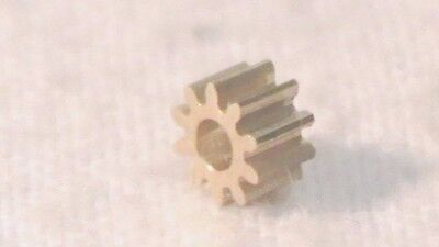 Hornby X9061 With 10 Teeth Brass 5 Pole Ringfield Motor Spur Gear Cog New Spares