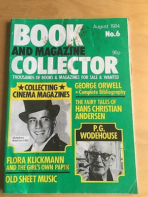 Book and Magazine Collector Vol 6: Orwell; Hans Christian Andersen; Wodehouse