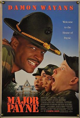 Major Payne Ds Rolled Orig 1Sh Movie Poster Damon Wayans Comedy (1995)