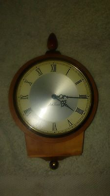 antique seth thomas. wall clock wind up.