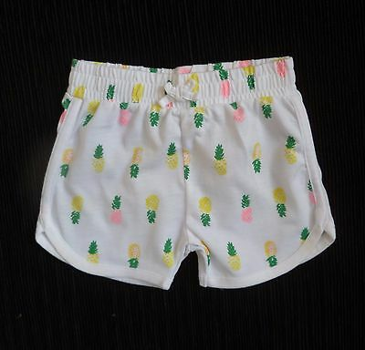 Baby clothes GIRL 3-6m NEW F&F white/bright pink,green,yellow soft summer shorts