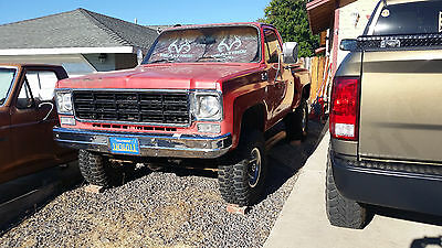 1977 Chevrolet Other Pickups  1977 GMC Stepside 4X4