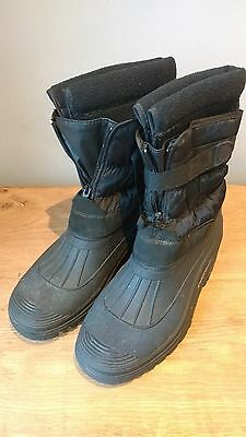 Snow Boots size 7 worn once
