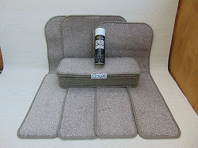 Stair pads/treads 50cm 17 off and 3 Big Mats with a FREE can of SPRAY GLUE 2045