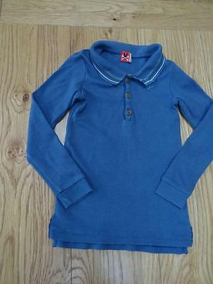 NO ADDED SUGAR boys blue long sleeve top AGE 18-24 MONTHS