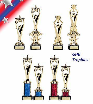 Engraved stars & cup Trophy personalized free102