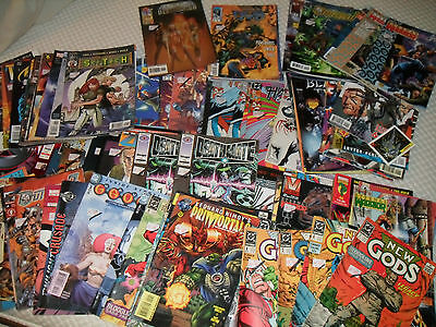 Various DC / Marvel / Valiant / Dark Horse comics from the early 1990s