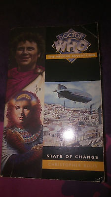 DOCTOR WHO Book - State of Change