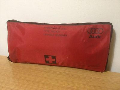 Audi A4 First Aid Kit 8k0.860.282 Road Car Safety Emergency Verbandtasche Secour