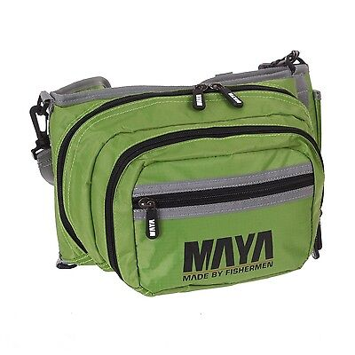 Maya Fishing Portable Compact Storage Gear Case Outdoor Tackle Waist Bag Pouch