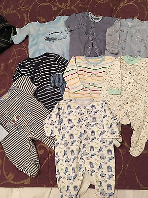 Baby Boys Babygrow Bundle First Size Or Upto 10lb