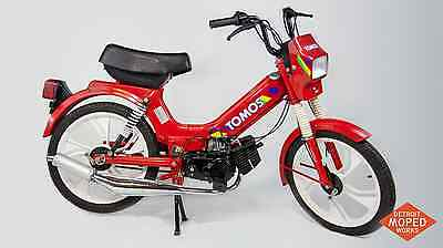 1994 Tomos Sprint A35 moped two speed 50cc 2-stroke performance exhaust pipe