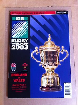 England v Wales Rugby World Cup Quarter Final 2003