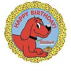 clifford the red dog balloon