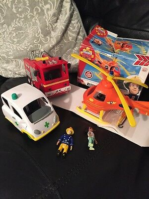 Fireman Sam Toy Bundle Part Sealed With Sounds Venus Water Squirt