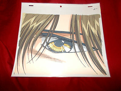 Fushigi Yuugi Yugi The Mysterious Play Anime Cel of Hotohori close up + Sketch