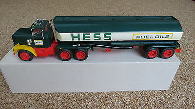 1977 / 1978 Hess Toy Tanker Truck with Original Box