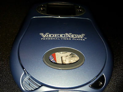 VIDEO NOW Personal Video Player w/ Fear Factor Disc Included by Hasbro TESTED