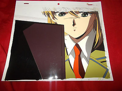 Fushigi Yuugi Yugi The Mysterious Play Anime Cel of Yui Hongo with Douga Sketch