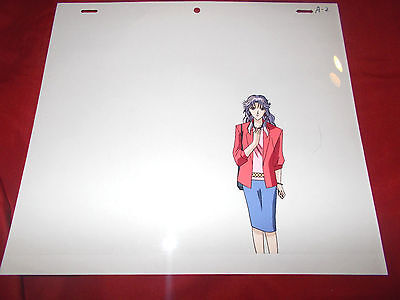 Fushigi Yuugi Yugi The Mysterious Play Anime Cel of Miisu with Douga Sketch